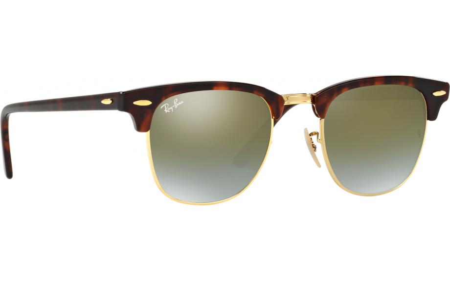 8b485ecfaf Ray-Ban Clubmaster RB3016 990 / 9J 49 gafas de sol - Envío Gratis |  Estación de sombra
