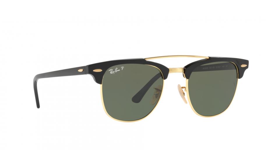 4c43e9bff0 Gafas de sol Ray-Ban CLUBMASTER DOBLE BRIDGE RB3816 901/58 51 - Envío  gratis | Estación de sombra