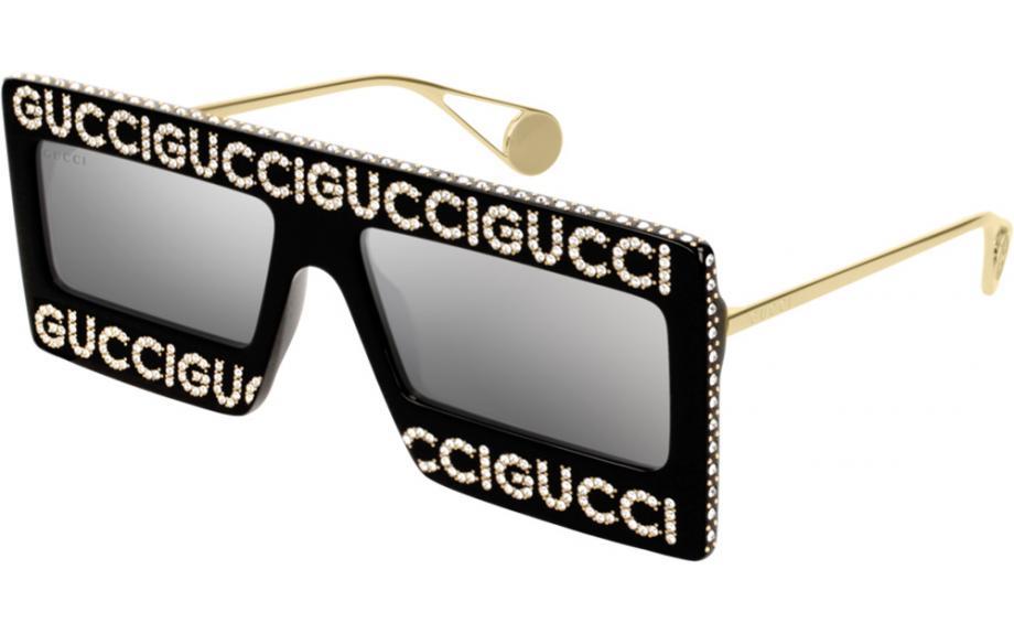fbad959d42 Gafas de sol Gucci GG0431S 001 60 - Envío gratis | Estación de sombra