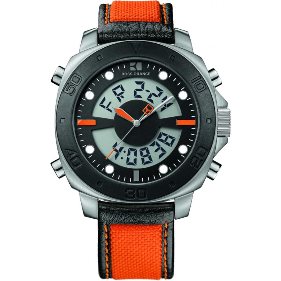cf34f81db87f 1512679 Hugo Boss reloj naranja - envío gratis